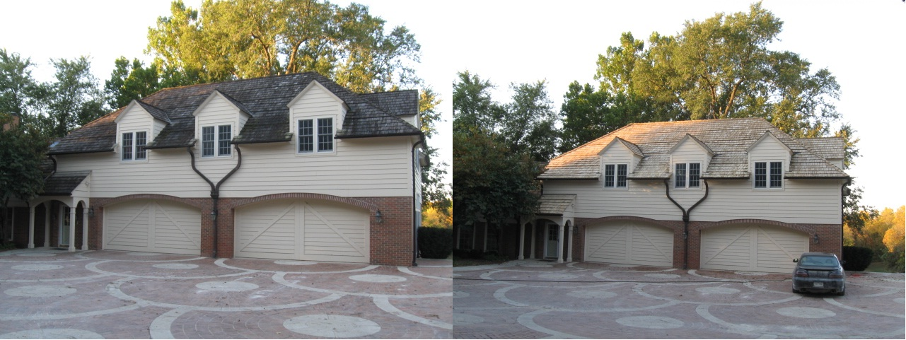 1088 Booneville Garage Before & After