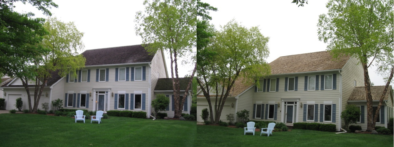 Tim Lakeshore Dr. Front Before & After